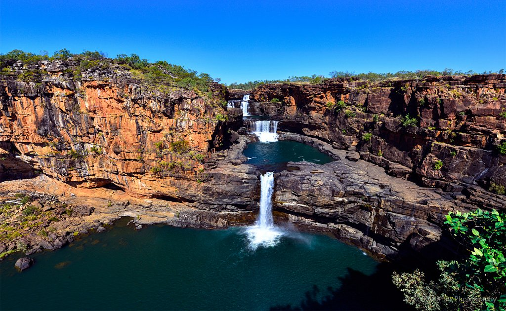 Four tiers of Mitchell Falls