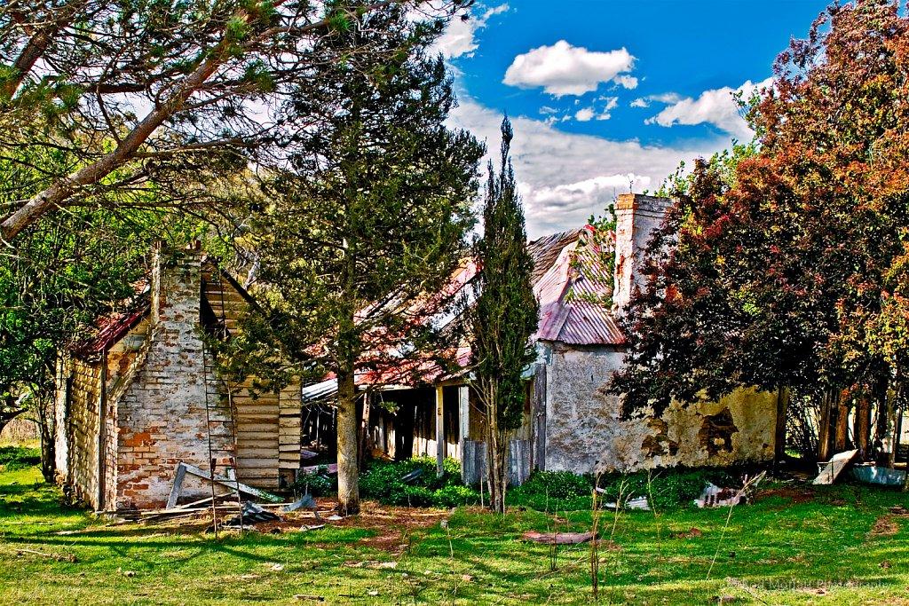 Rustic settler's cottage